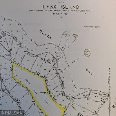 Koochiching County, Saint Louis County, St. Louis County Residential Lots & Land For Sale: 1908 Lynx Island
