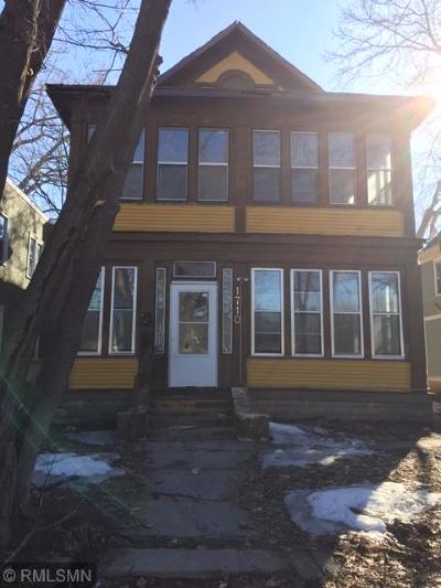Minneapolis Multi Family Home For Sale: 1710 Fremont Avenue N