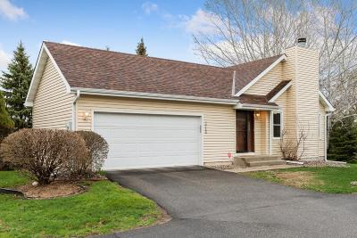 Eden Prairie Single Family Home Contingent: 10166 Lee Drive
