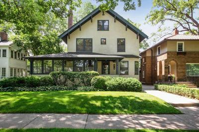 Saint Paul Single Family Home For Sale: 2190 Princeton Avenue
