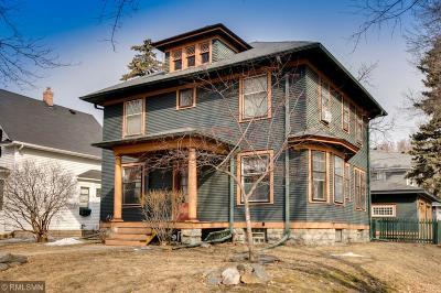 Saint Paul Single Family Home For Sale: 1759 Laurel Avenue