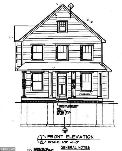 White Bear Lake Single Family Home For Sale: 4583 2nd Avenue