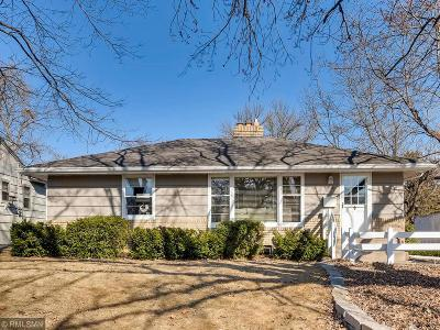 Edina Single Family Home For Sale: 5945 Saint Johns Avenue