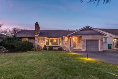Edina Single Family Home For Sale: 5028 Richmond Drive
