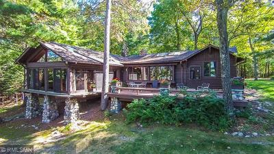 Breezy Point, Crosslake Single Family Home For Sale: 12634 Anchor Point Road