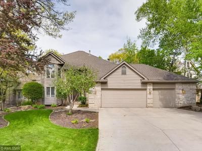 Eagan Single Family Home For Sale: 3624 Woodland Trail
