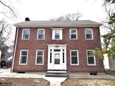 Minneapolis Single Family Home For Sale: 5510 Blaisdell Avenue