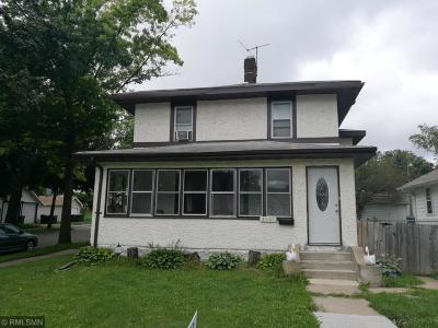 Minneapolis Single Family Home Contingent: 3501 N Lyndale