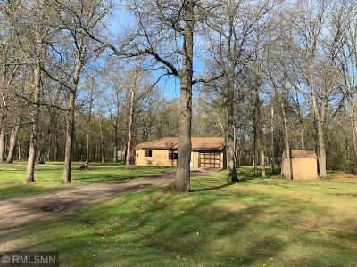 Pillager Single Family Home For Sale: 12819 Oakwood Trail SW
