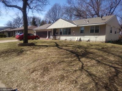 Anoka County Single Family Home Contingent: 5724 Jackson Street NE