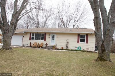 Isanti Single Family Home Contingent: 10 Buckskin Boulevard SE