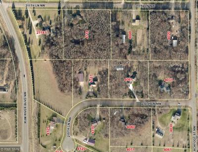 Oak Grove Residential Lots & Land For Sale: Xxx 210th Lane NW