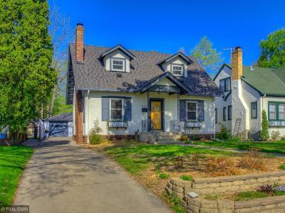Minneapolis Single Family Home For Sale: 4648 Ewing Avenue S