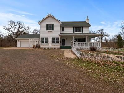 Pine County Single Family Home For Sale: 56290 Nature Avenue