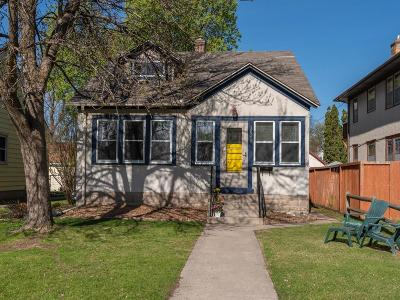 Minneapolis Single Family Home Contingent: 3648 19th Avenue S