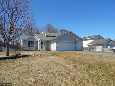 Saint Francis MN Single Family Home Under Contract: $229,900