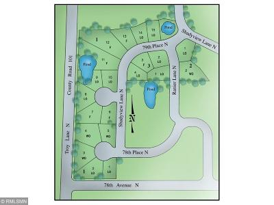 Maple Grove Residential Lots & Land For Sale: 18115 79th Place N