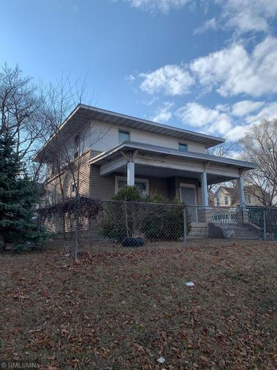 Minneapolis Single Family Home For Sale: 2135 N 6th Street