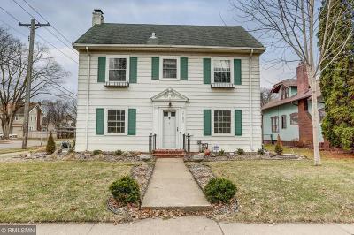 Saint Paul Single Family Home For Sale: 2182 Fairmount Avenue