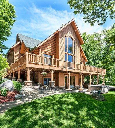Duluth Single Family Home For Sale: 5960 N Pike Lake Road