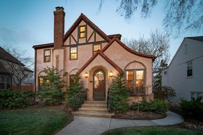 Minneapolis Single Family Home For Sale: 5229 Woodlawn Boulevard