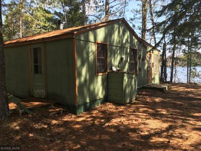 Itasca County Single Family Home For Sale: 55316 Owen Lake Campground Road