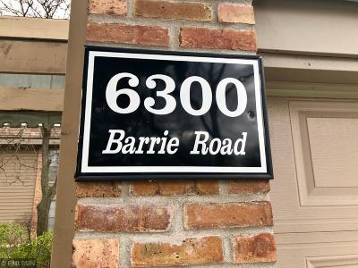 Edina Condo/Townhouse For Sale: 6300 Barrie Road #1C