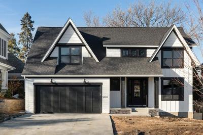 Edina Single Family Home For Sale: 3608 W 55th Street