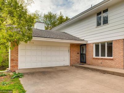 Edina Single Family Home For Sale: 5318 Malibu Drive
