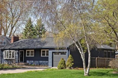 Edina Single Family Home For Sale: 6008 Wooddale Avenue