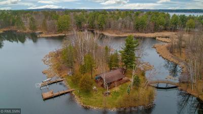 Crosslake Single Family Home For Sale: 37193 Milinda Shores Road