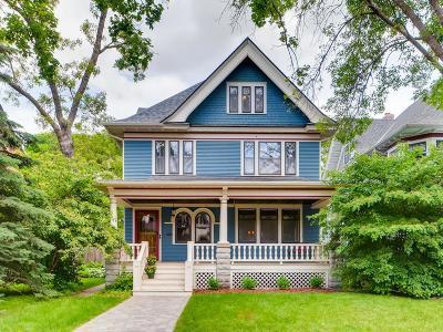Saint Paul Single Family Home For Sale: 833 Lincoln Avenue