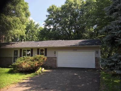 Coon Rapids Single Family Home For Sale: 1648 125th Lane NW