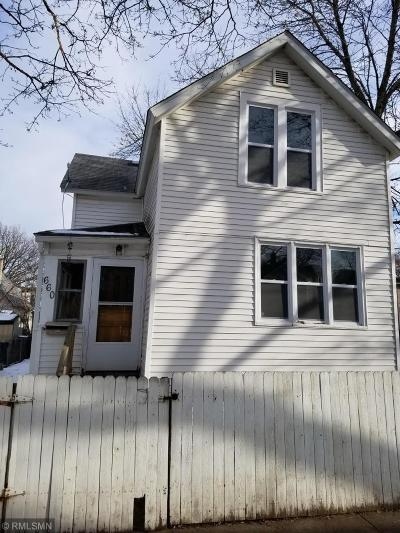 Saint Paul Single Family Home For Sale: 660 Winslow Avenue