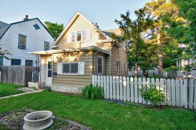 Minneapolis Single Family Home For Sale: 3435 Oakland Avenue