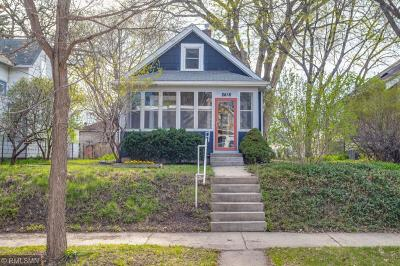 Minneapolis Single Family Home Contingent: 2416 32nd Avenue S