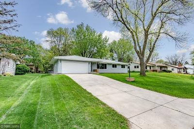 Fridley Single Family Home For Sale: 5241 Buchanan Street NE