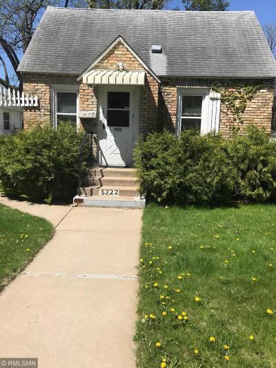 Minneapolis MN Single Family Home For Sale: $200,000