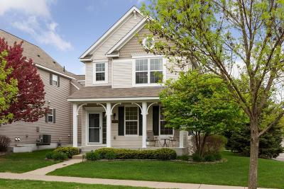 Eden Prairie Condo/Townhouse For Sale: 10006 Iris Lane