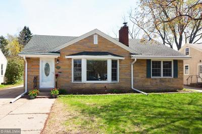 Saint Paul Single Family Home For Sale: 1366 Saint Albans Street N