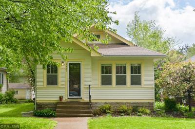 Minneapolis Single Family Home For Sale: 3339 44th Avenue S