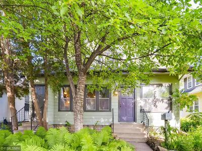 Minneapolis Single Family Home For Sale: 3216 47th Avenue S