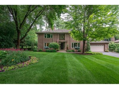 Edina Single Family Home For Sale: 7714 Tanglewood Court