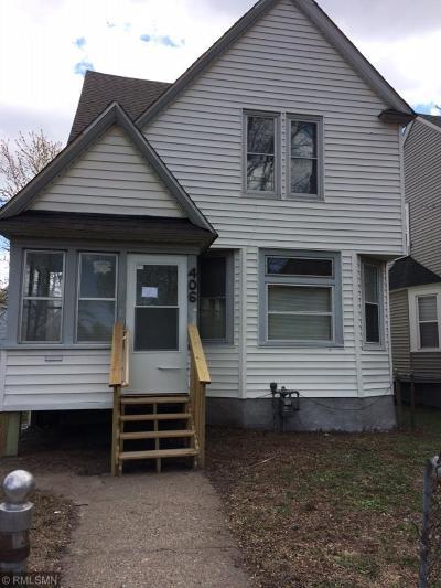 Saint Paul Single Family Home For Sale: 406 Edmund Avenue