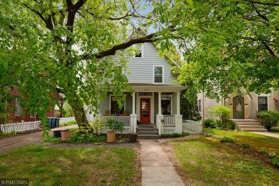Minneapolis Single Family Home For Sale: 2905 W 43rd Street