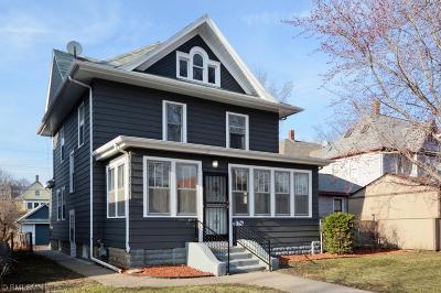 Saint Paul Single Family Home For Sale: 873 Ashland Avenue