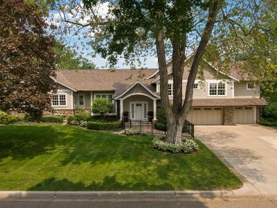 Edina Single Family Home Contingent: 4810 Lakeview Drive