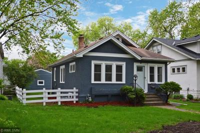 Minneapolis Single Family Home For Sale: 4636 Clinton Avenue