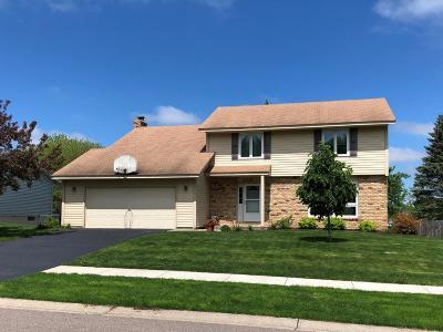 Apple Valley Single Family Home Contingent: 15725 Hayes Trail