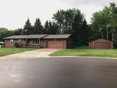 Elk River Single Family Home For Sale: 19339 Oxford Street NW
